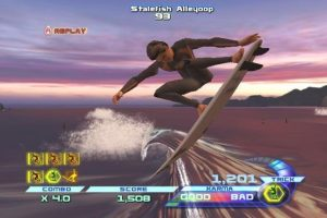 capture d'écran du jeu transworld-surf